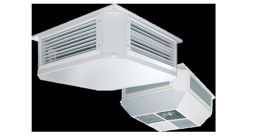 WOLF потолочные вентиляционные установки de luxe