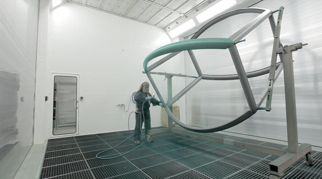 Spray Booth with Dry Separation